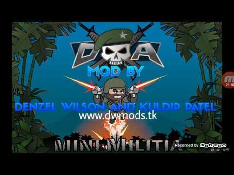 mini militia mega mod denzel