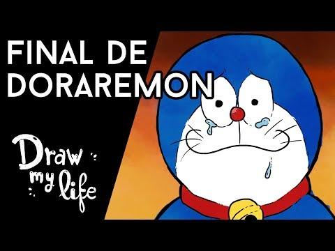 ¿QUÉ PASÓ con DORAEMON? Teorías sobre su final - Draw My Life en Español