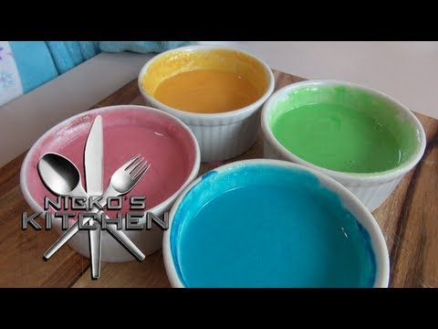 HOW TO MAKE PAINT FOR KIDS (non toxic)