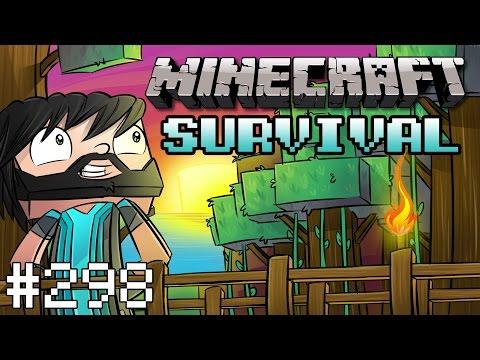 HOBBIT HOLE!! [#298] | Minecraft : Noodle Planet Survival