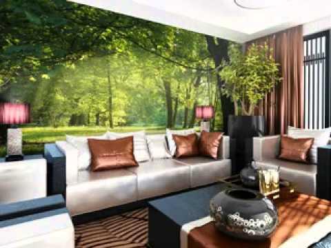 Forest room wallpaper design ideas