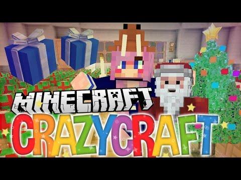 Pranks & Presents!   Ep 21   Minecraft Crazy Craft 3.0