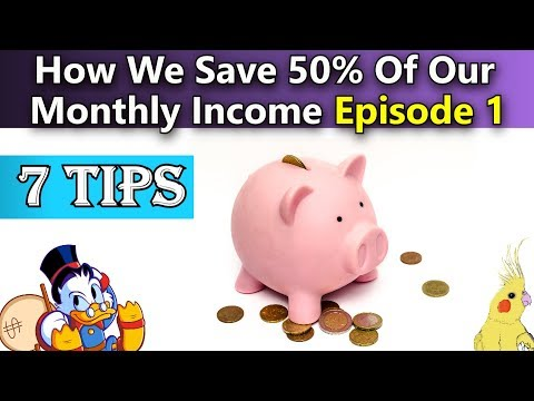 How to Save 50% of Your Monthly Income (Part 1) |How To Save More Money Each Month| Save Hundreds