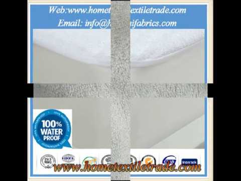 New Cotton Vinyl Free Waterproof Fitted Mattress Cover Queen Machine Wash