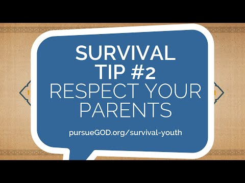 Teenagers Survival Guide 2 - Respect Your Parents