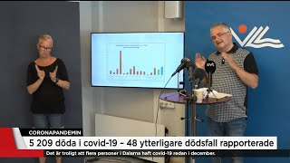 Gällivare har tre gånger så många covid-fall som riksgenomsnittet - Nyheterna (TV4)