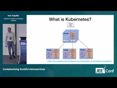 Containerising bootiful microservices (Ivan Vasyliev, Ukraine) [RU]