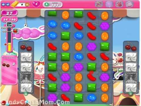Candy Crush Level 181 Walkthrough Video & Cheats