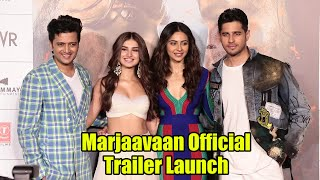 Marjaavaan Official Trailer Launch | Riteish Deshmukh, Sidharth Malhotra,Tara Sutaria