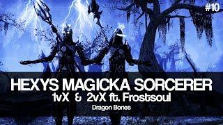 ESO PVP | Sithkyn | Hexys Magicka Sorcerer PvP #11 - PakVim