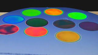 Etching silicon wafers to make colorful Rugate optical filters (porous silicon)