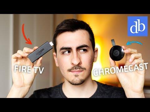 CHROMECAST VS FIRE TV BASIC EDITION: QUALE SCEGLIERE? Confronto da 39€! • Ridble