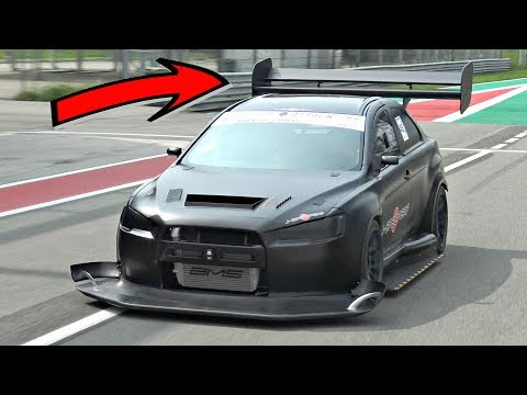 Mitsubishi Lancer EVO X INSANE Time Attack Build with Sequential ONBOARD @ Monza Circuit!