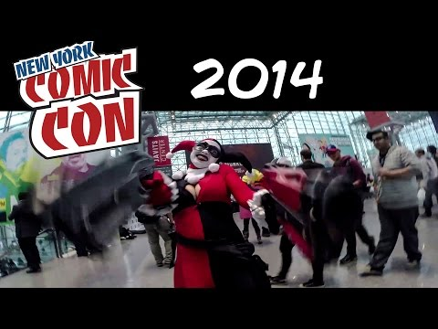 New York Comic Con 2014 (Thursday-Sunday) In a Minute