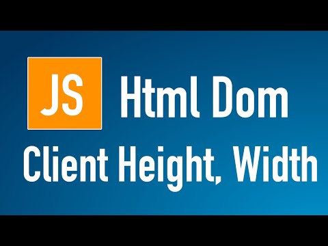 Learn JS HTML Dom In Arabic #24 - Elements - Client [ Height, Width ]