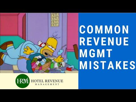 Common Revenue Management Mistakes