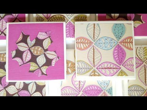EASY Fall Mod Podge Tiles - GiftBasketAppeal