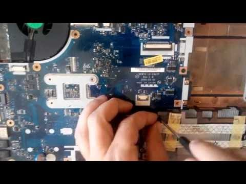 Acer Aspire 5551 series disassembly, fan cleaning, how to open