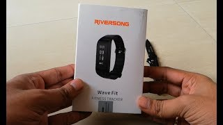 Riversong Wave Fit Fitness Tracker Unboxing and Features