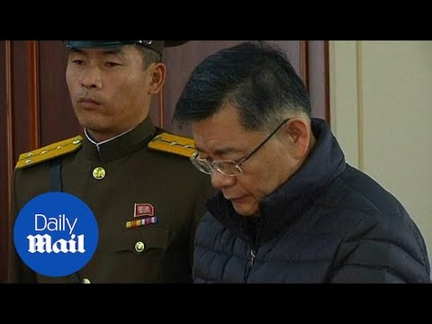 North Korea sentences Canadian pastor to hard labour for life - Daily Mail