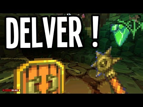 EPIC MAGIC SHIELD and MACE of PARALYZE!! - Delver Gameplay - Ep. 3