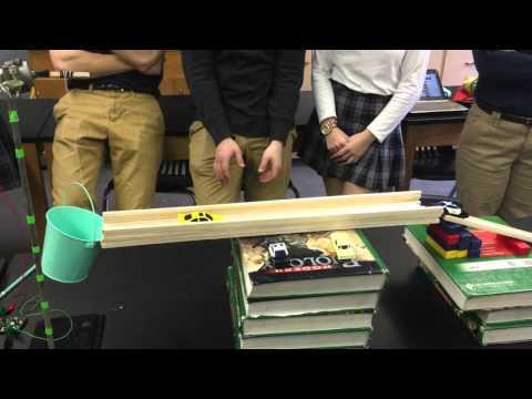 Heelan Rube Goldberg machine (2016, Physics Honors period 1)