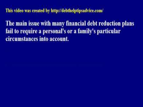 How To Make Your Own Debt Reduction Plan Work For You