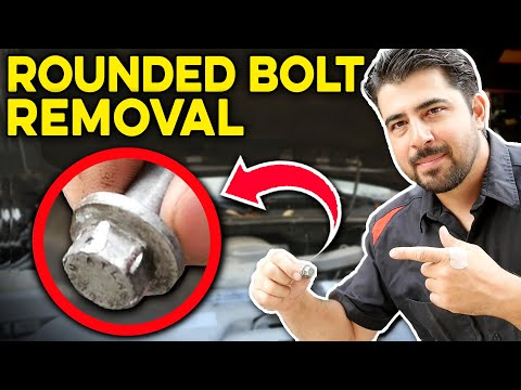 How to Remove a Rounded Nut or Bolt