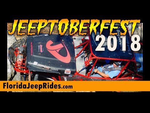 Jeeptoberfest jeepersden run 2018 Saturday October 20th Extreme Course