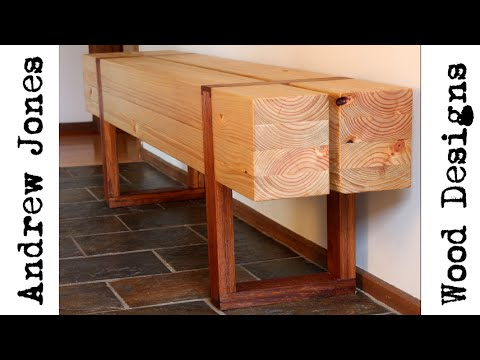 How I turned $100 worth of building timber into designer furniture with handtools