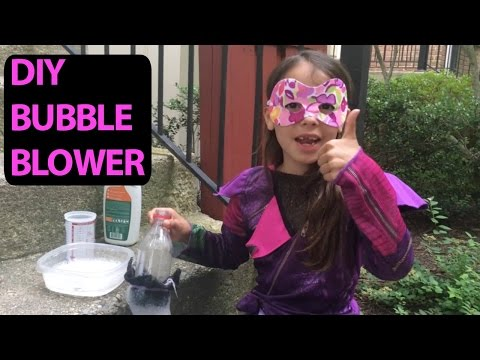 How Make a Simple Homemade Bubble Blower