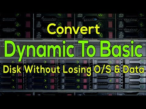 [100% Solved Without Losing Data] Easily Convert Dynamic Disk To Basic Disk | Best Method