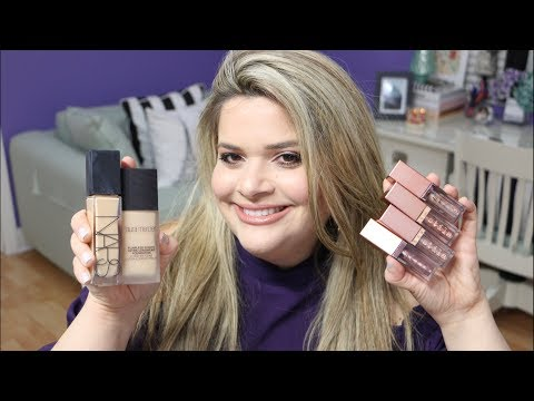 MASSIVE TRY ON HAUL: FIRST IMPRESSIONS - DRUGSTORE AND HIGH-END / TRYING NEW MAKEUP