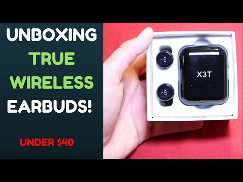 X3T Wireless Earbuds Unboxing! + First Impressions