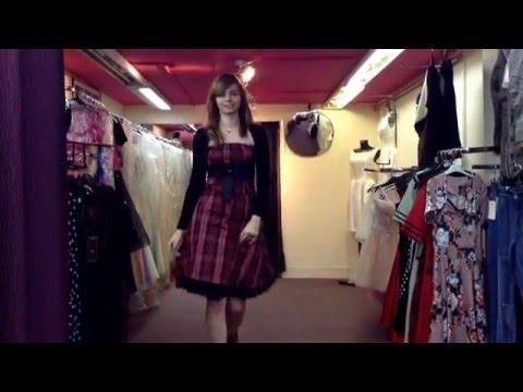 PDUK Saskia Strapless Tartan Dress UK Sizes UK 6-10