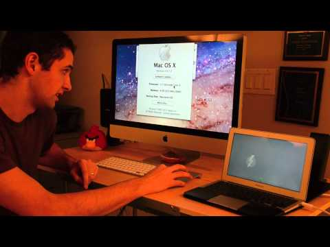 Using iMac as a Display - Part2