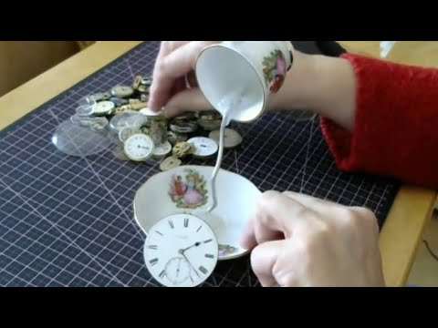 FLOATING TEA CUP.  Make a floating Tea cup. A quick easy tutorial with amazing results