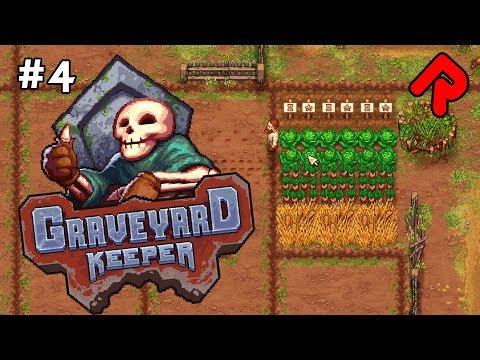 The MOONWALKING FARMER!   Let's play GRAVEYARD KEEPER gameplay ep 4 (Alpha)