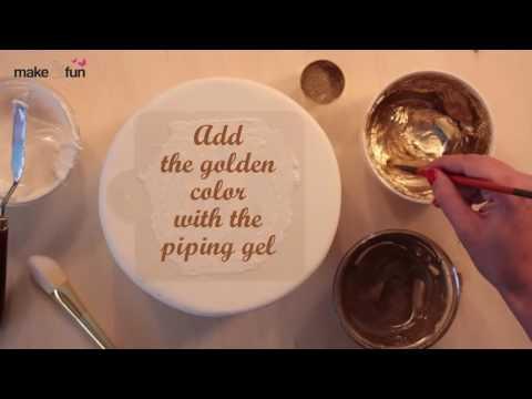 Wedding Cake Stencil, Cake Decorating, Royal Icing Stencil, Torten Schablone