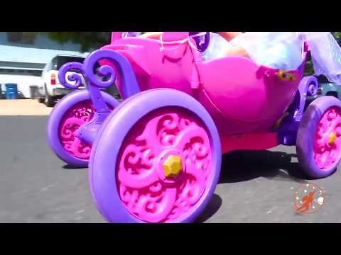 New Sky Kids Super Episode - Little Princesses, The Gorilla & The Ride On Pink Princess Carriage