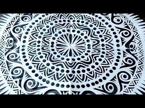 Fine paper cut | paper craft | paper origami | paper design | #papercuttingart | #rainbowart