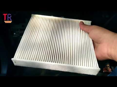 Maruti Vitara Brezza Ac filter/Cabin filter cleaning
