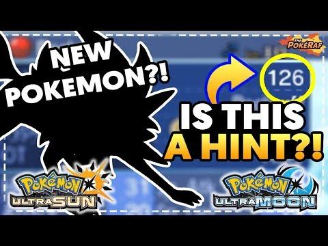 NEW POKEMON AND POKEDEX HINTED! - Pokémon Ultra Sun and Ultra Moon