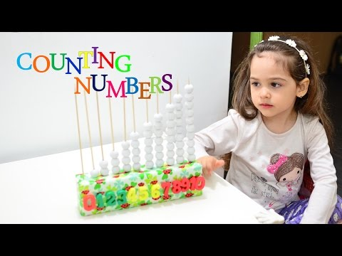 Learn Counting Numbers Montessori activities kids learning teaching methods kids education play fun