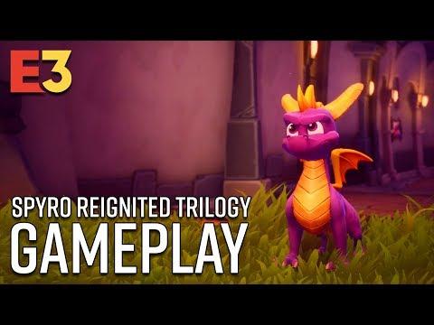 Spyro Reignited Trilogy Gameplay | E3 2018