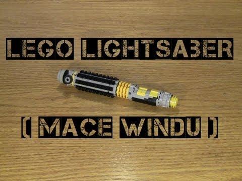 Lego Lightsaber (Mace Windu)