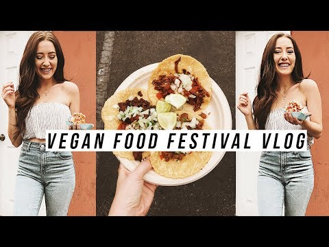 VEGAN FOOD FESTIVAL TASTE TEST! | What I Eat In A Day