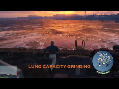 GTA Online:  Fastest Max Lung Capacity