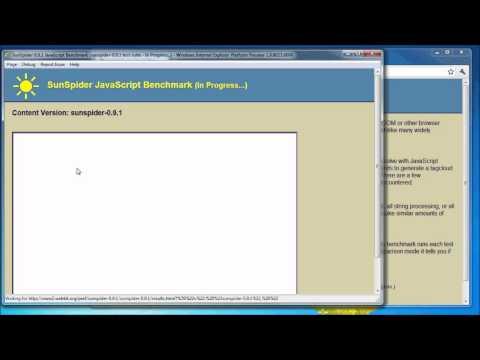 Google Chrome 8 VS Internet Explorer 9 PP 7 - Javascript Speed