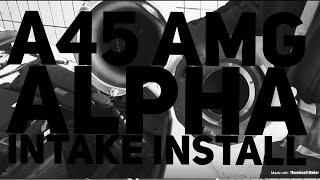 A45 Amg Ams Alpha Intake Install / Alpha Ansaugung Installation Tuning